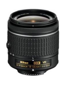 Nikon AF-P DX 18-55mm/F3.5-5.6G VR