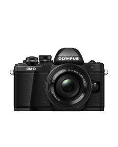 Olympus E-M10II zwart + EZ-M 14-42 Pancake black